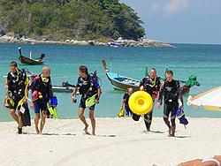 Phuket Padi Divemaster Instructor Kurs Similan Islands
