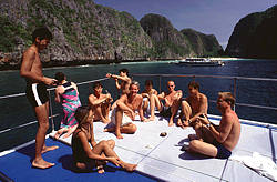 Raja Yai Raja Noi Phuket scuba diving Day trip thailand diving vacation Similan tour Phi Phi Island