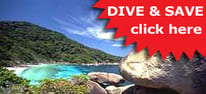 Similan Island Liveaboard and diving in Phuket Thailand
