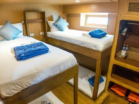 Diverace Similan Liveaboards Deluxe Standard Cabins
