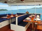 Giamani Similan Island Liveaboard outside seating area