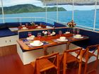 Giamani Similan Island Liveaboard Eating area