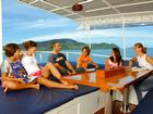 Rear Deck Giamani Thailand Liveaboard Similan island with Dive Asia