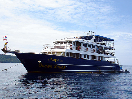 Deep Andaman Queen Similan Islands Liveaboard
