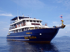 MV Queen Scuba Liveaboard