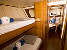 Deep Andaman Queen Similan Island Liveaboard 4 Bed Cabin