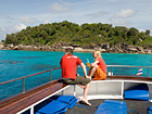 Deep Andaman Queen Similan Island Liveaboard open Sundeck