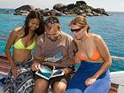Deep Andaman Queen Similan Island Liveaboard fish book