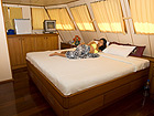 Deep Andaman Queen Similan Island Liveabaord Master Cabin