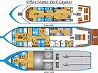 tritan Similan Island Liveaboard Layout